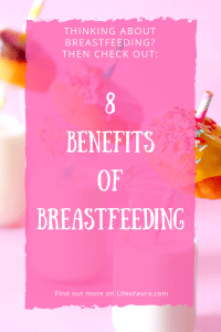 You will hear about breastfeeding a lot during pregnancy and even if you don't have kids. But do you know the benefits of actually breastfeeding? #breastfeeding #pregnancy #motherhood #newborn
