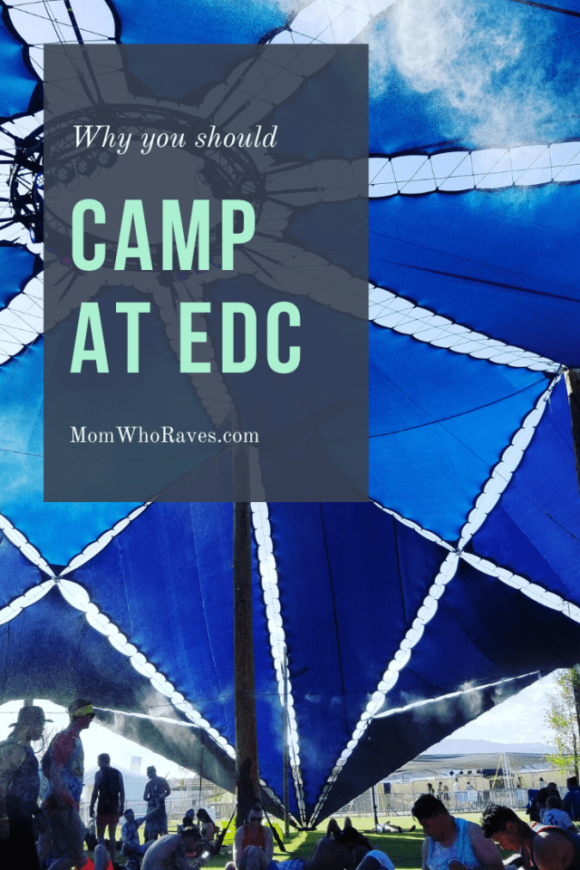 Camping maybe a new thing still for EDC Vegas, but that doesn't mean it isn't great. #campedc #edcvegas #festivalseason