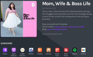 Mom, wife & Boss Life Podcast