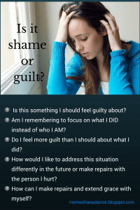 Is it shame or guilt-