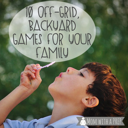 15+ DIY Backyard Games for Your Family