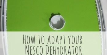 How to Adapt Your Nesco Dehydrator to Make Leathers & Liquids