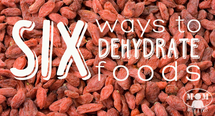 Mom with a PREP | Think using an electric dehydrator is the only way to be able to dehydrate your garden bounty? You've got options!