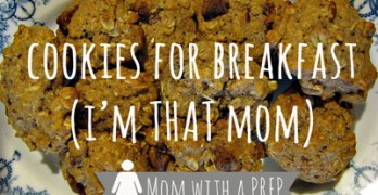 Food Storage Recipe: Breakfast Cookies