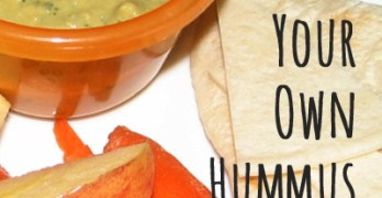 Food Storage Recipe: Hummus (even if you hate beans)