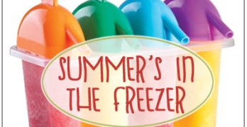 Healthy Freezer Treats from Your Summer Bounty