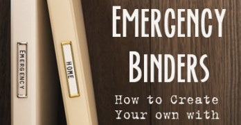 Family Emergency Binder: Free Checklist to Create Your Own