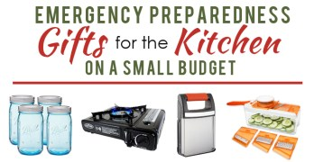 Preparedness Gifts for the Kitchen under $25