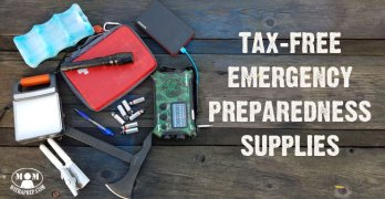 Tax Free Emergency Preparedness Supplies – Here's how!