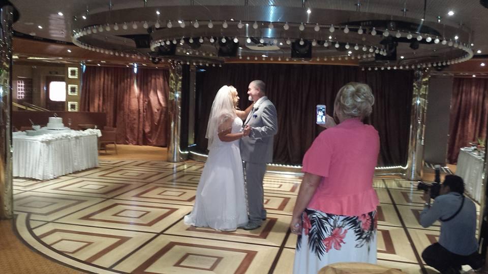 Cruise Ship Wedding Pictures  Mom Writing Freelance