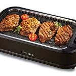 smokeless nonstick grill and griddle