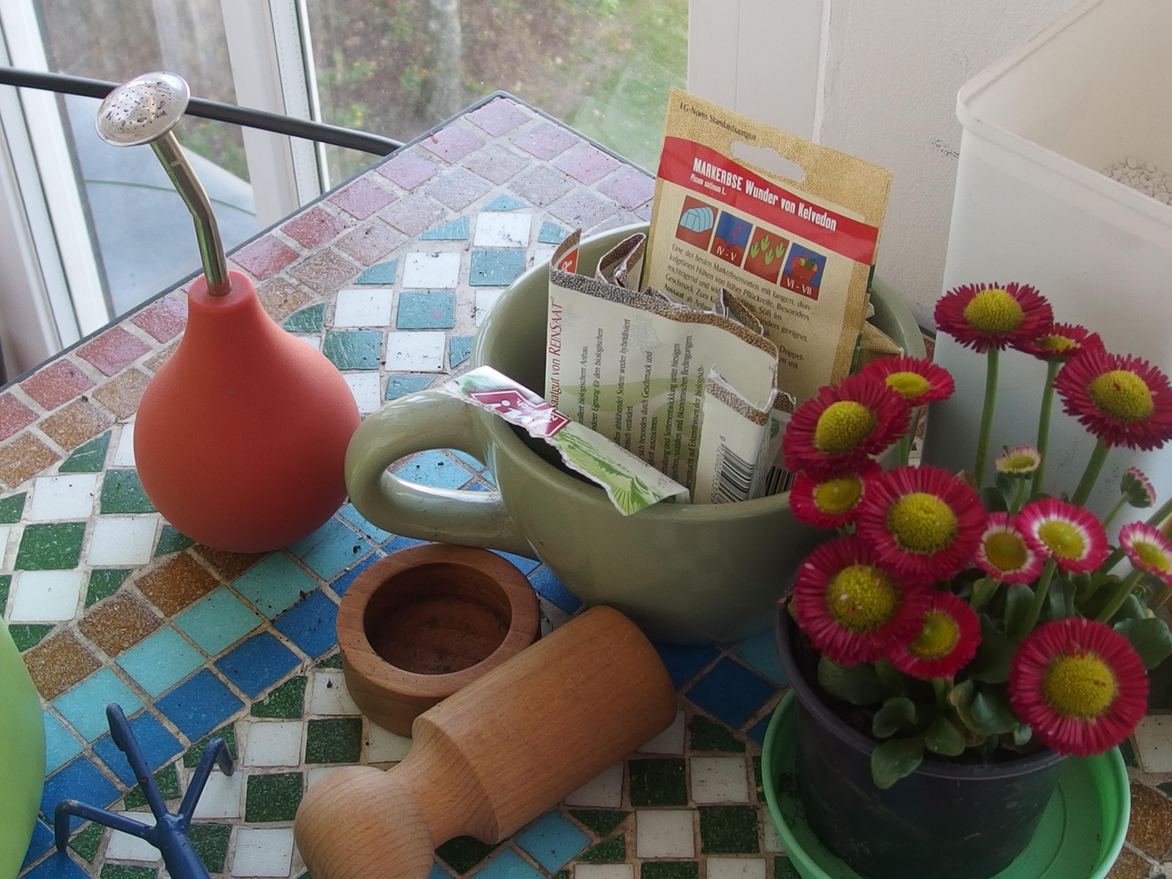 Défi balcon-jardin en mars