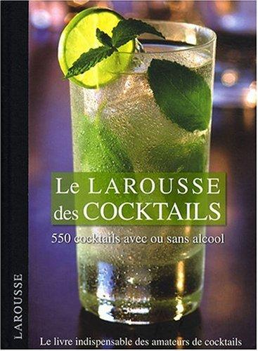 larousse des cocktails barman