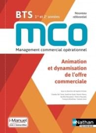 livre bts mco animation et dynamisation offre commerciale
