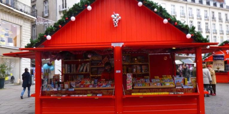 Chalet échoppe fabrication française Marché de Noël Nantes