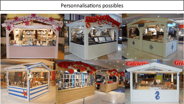 personnalisation stands
