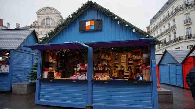 Chalets de Noël à Angers