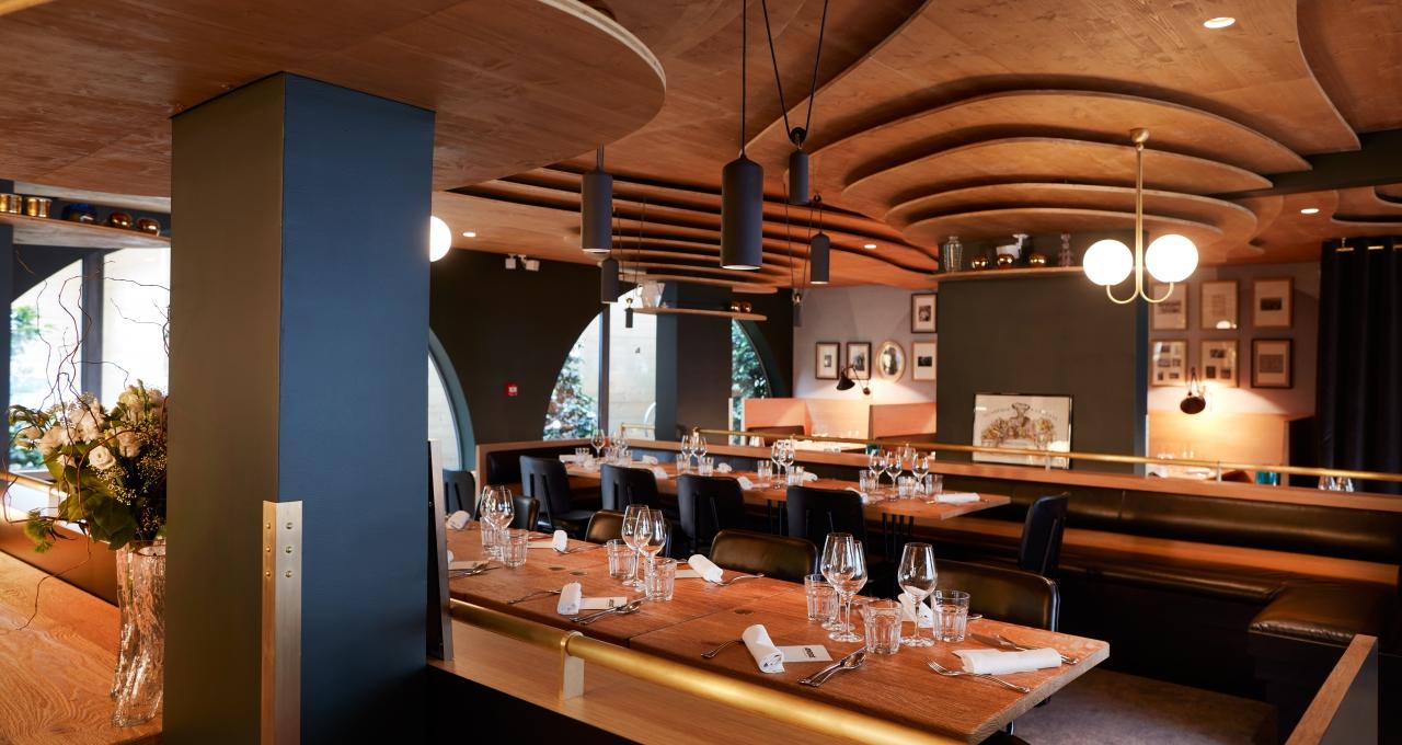 andr nouveau restaurant d 39 anne sophie pic mon chef de cuisine. Black Bedroom Furniture Sets. Home Design Ideas
