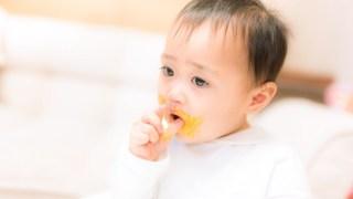 離乳食を食べさせよう!