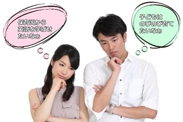 教育方針の食い違いが原因で夫婦喧嘩にも?