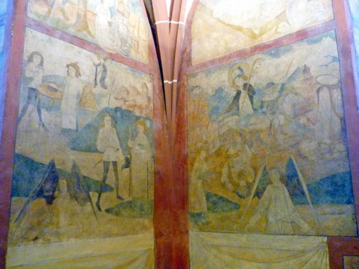 Les fresques de l'église d'Hunawihr © French Moments