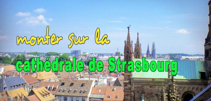 Monter sur la cathédrale de Strasbourg © French Moments