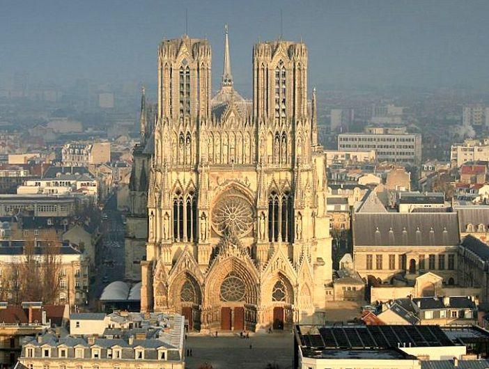 La cathédrale de Reims © F. Canon - OT Reims