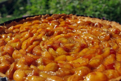 Tarte aux mirabelles faite maison © French Moments