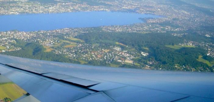 Atterrissage à Zurich © French Moments