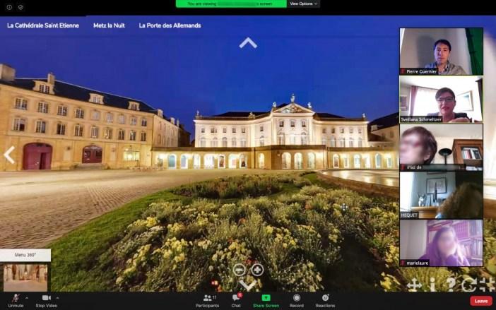 Visites virtuelles à Metz