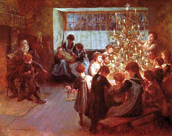 Le sapin de Noël a été introduit en Angleterre
