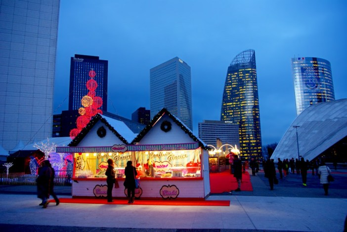 Marché de Noël à La Défense © French Moments