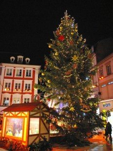 Le grand sapin de Mulhouse © French Moments