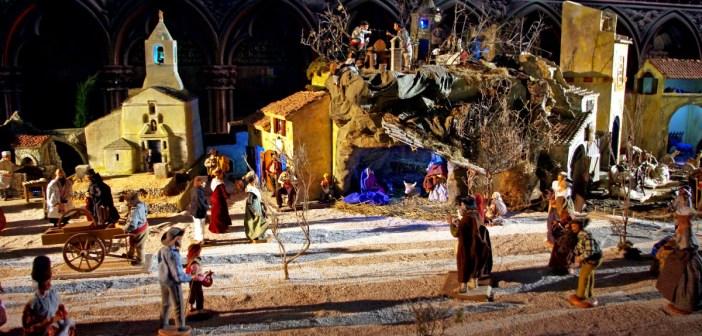 crèche de Noël de Notre-Dame