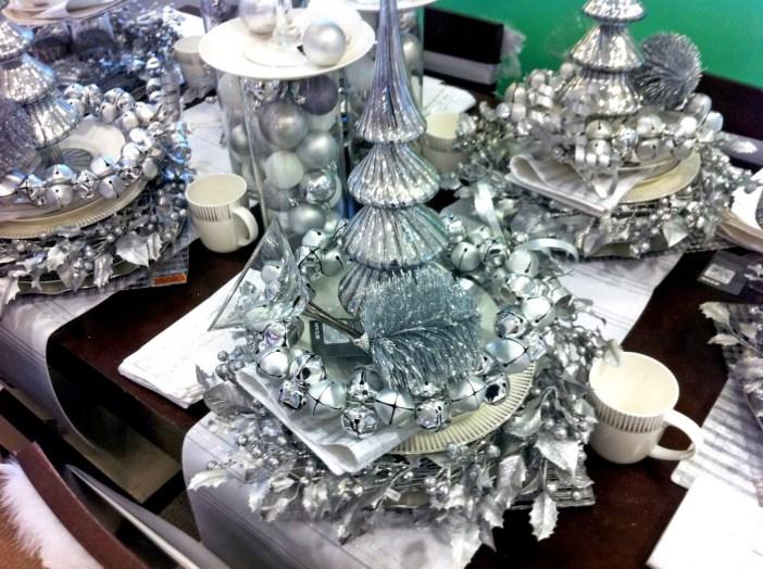 Quelles sont les couleurs de no l mon grand est - Decoration table de noel couleur argent ...