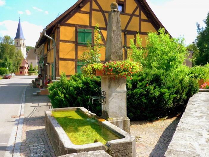 Bourg de Hirsingue Sundgau Alsace