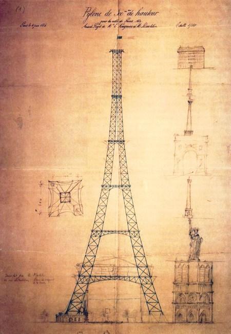 Tour Eiffel Maurice Koechlin