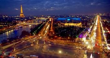 Grande Roue de Paris la nuit