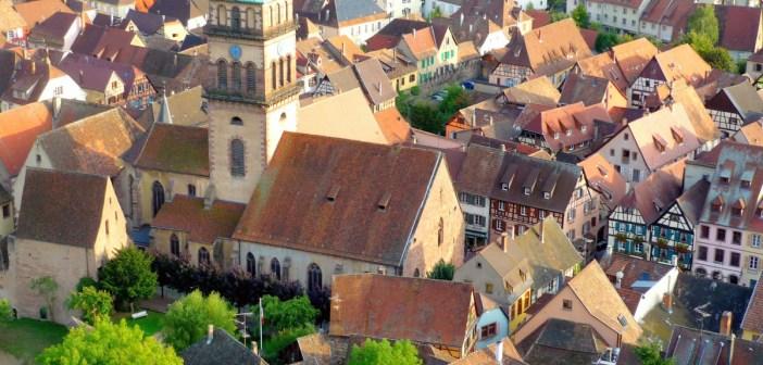 église sainte-croix de Kaysersberg