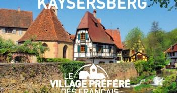 Village préféré des Français Kaysersberg