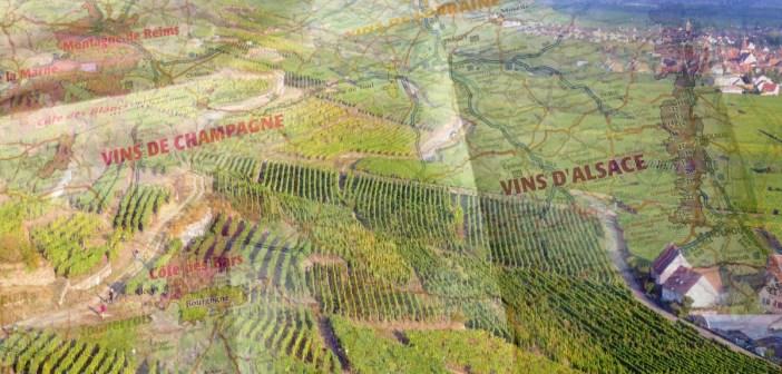 Carte des Vins de France IGN