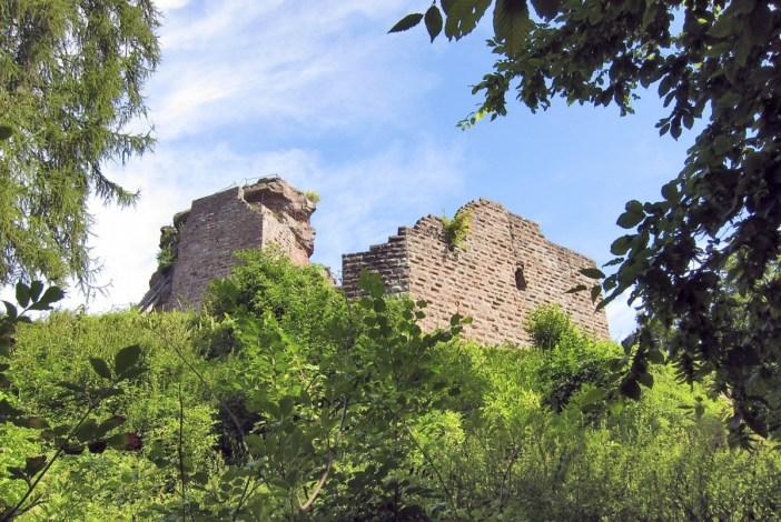 Châteaux-forts d'Alsace Hohenbourg