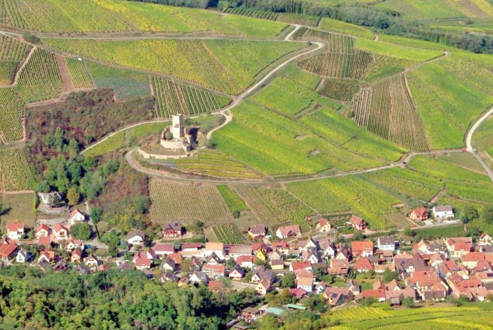 Châteaux-forts d'Alsace Wineck Katzenthal
