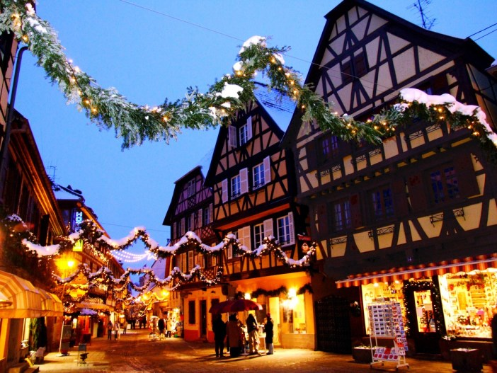 Illuminations de Noël à Obernai © Office de Tourisme d'Obernai