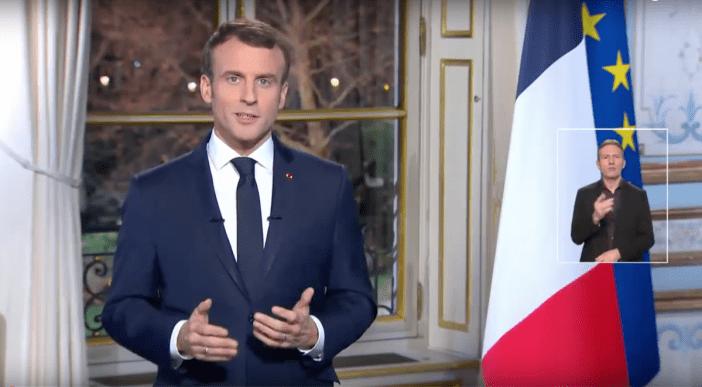 Vœux présidentiels Emmanuel Macron