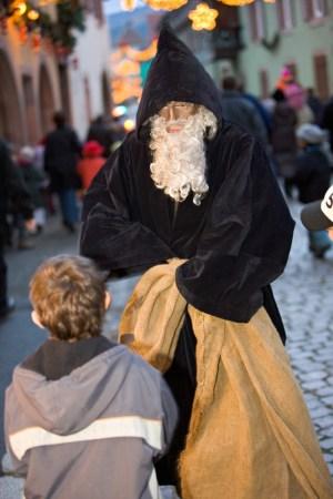Le Père Fouettard en Alsace (Hans Trapp) © CRTA Meyer