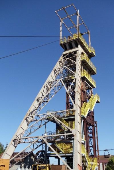 Le chevalement de la mine d'Aumetz © Sciurus54 - licence [CC BY-SA 3.0] from Wikimedia Commons
