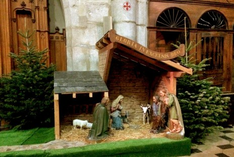Crèche de Noël (cathédrale Saint-Pierre), Annecy © French Moments