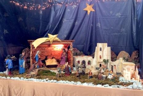 Crèche de Noël (église Saint-François-de-Sales), Annecy © French Moments