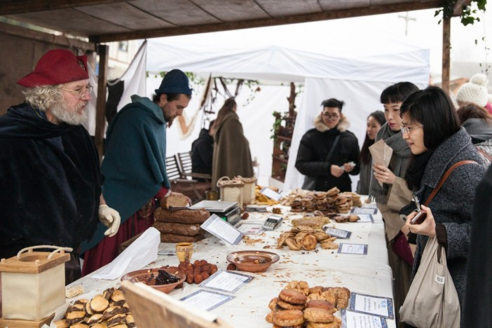 Marché médiéval de Noël à Provins © Damien Gilbon
